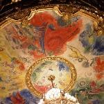 オペラ座のシャガールが描いた天井画