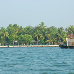 Illikkalam Resort - View fron Vembanad Lake