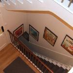 Stairwell to Dining Room