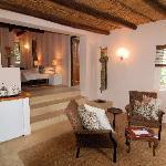 Living room of Protea Garden Suite