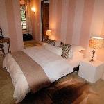 Bed in Protea garden Suite
