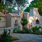 Ramekins' Newly Renovated Courtyard
