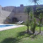 La piscina de La Posada