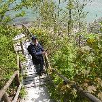 auf dem Weg zur Steilküste, Donnerkeile suchen