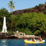 Kayak & Snorkel Capt Cook Monument - Big Island