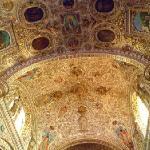 サント・ドミンゴ教会の内部装飾
