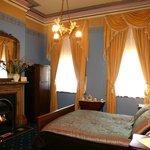 Victorian era guest room