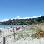 Tahunanui Beach Near Nelson