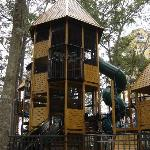 childrens outdoor playground