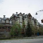お城の様なホテルが点在