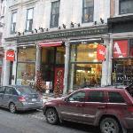 Paillard on Rue St-Jean in Vieux Quebec