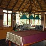 Lobby with billiard