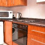The King Apartment kitchen