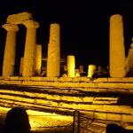 i templi di notte