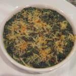 cheese spinach baked in the oven