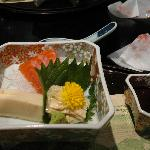 Part of the lovely kaiseki dinner