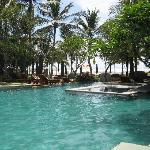The main pool at Sofitel