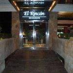 The elegant entrance.