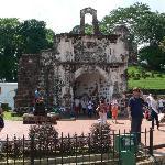 Reste der portugisichen Festung