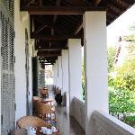 Front terrace of Suite 15