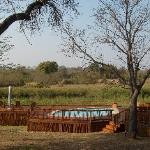 View of Kruger Park from lodge
