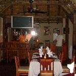 Restaurant under thatch