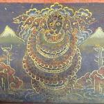 Snake Deity in Gasa Dzong