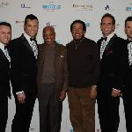 Human Nature with Smokey and Motown founder, Berry Gordy.