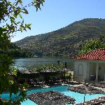 View from room, CS Vintage House, Douro Valley