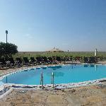 the swimming pool!