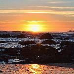 Breathtaking sunsets just a short walk away
