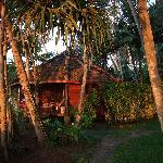 Sunrise by the cabana