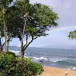 Rainbow View from Unit 212 Lanai