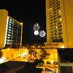 Fireworks from our Lanai