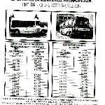 Fahrplan vom Shuttlebus