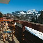 Hôtel Club - Megeve - Vue Mont Blanc