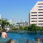 rooftop pool lovely