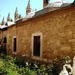 Die Räume des Klosters mit Zellentrakt