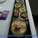 les desserts chez ermitage st cyr