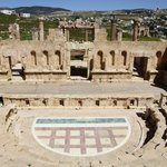 The Northern Roman Theater at Jerash