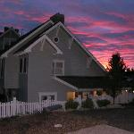 Late Summer Sky Behind The Bed & Breakfast