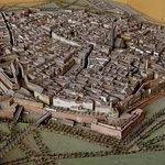 Modell der Stadt Wien vor der Schleifung der Stadtmauer