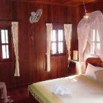 Rear bedroom, incl balcony