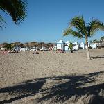 Playa frente al Hotel (25 Dic.)