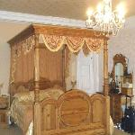 Elegant huge bed