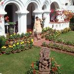 Entrance of Hotel Gandhara