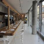 Dos Pallilos restaurant, attached to Casa Camper