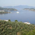 Looking towards Skopelos