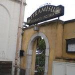tiramisu entrance