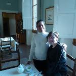 Rita, a wonderful member of the hotel staff